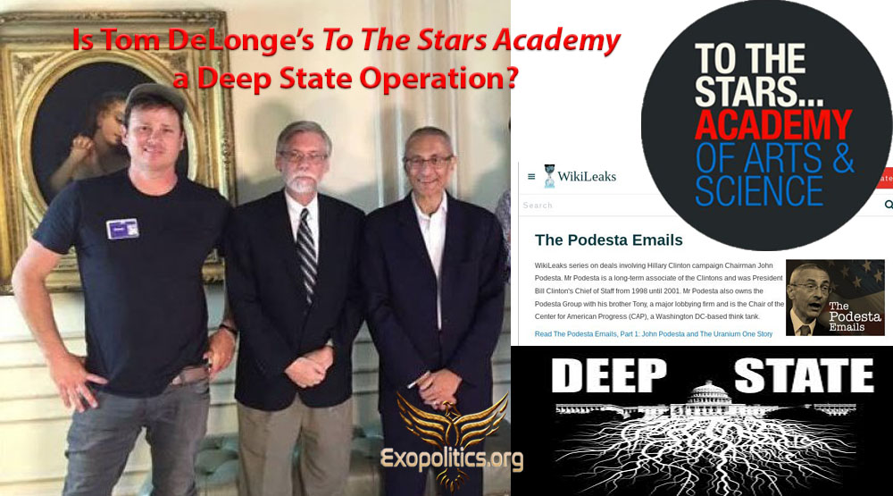 Is Tom DeLonge's To The Stars Academy a Deep State Operation?