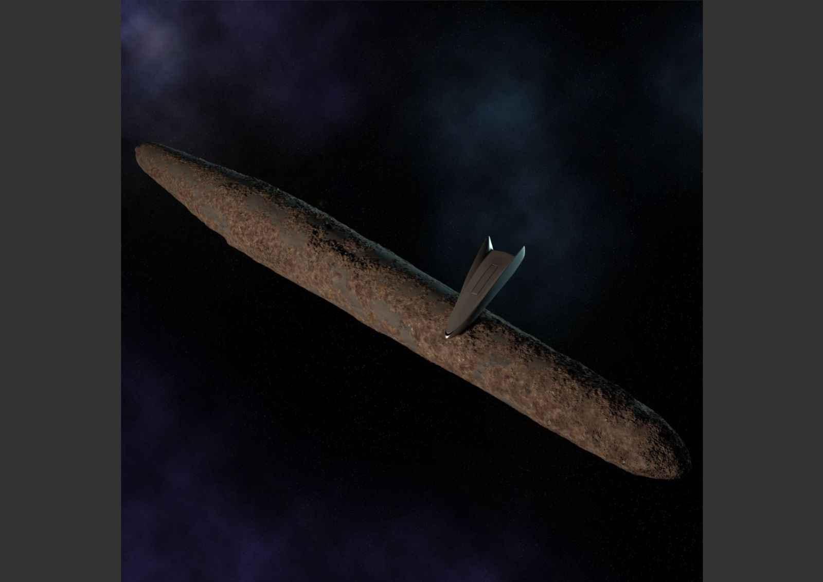 Майкл Салла - Инсайдеры военно-морского флота подтверждают миссию тайного космического флота к Оумумуа + Раскроет ли Глубинное государство погребённую под льдами цивилизацию Антарктики ради отвлечения от надвигающихся массовых арестов, 22-28 февраля 2019 17_Oumuamua_and_MIC_SSP_craft_2