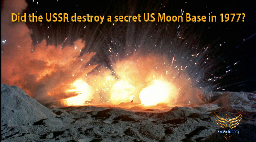 Resultado de imagem para Did the USSR destroy a secret US Moon Base in 1977?