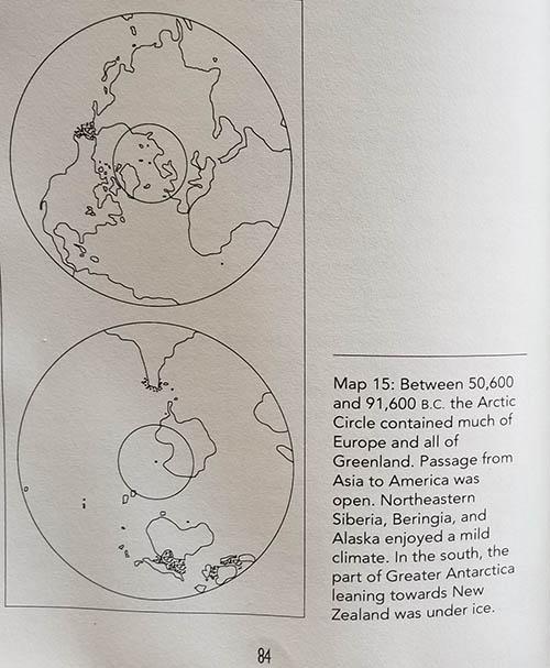 Отчеты Антарктического Ледяного ядра разрешают конкурирующие теории сдвига полюсов  Antarctica-91000-51000-BC