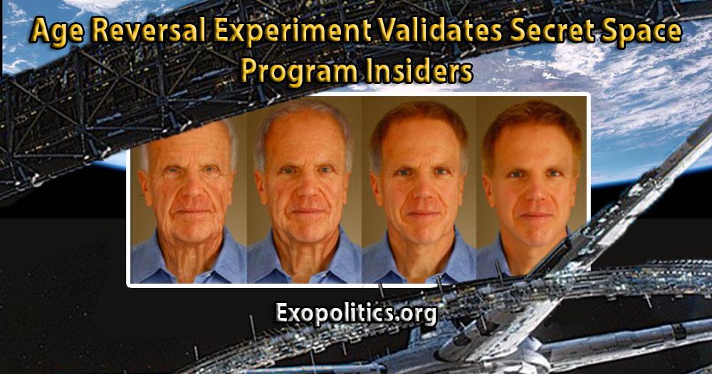 Age Reversal Experiment Validates Secret Space Program Insiders