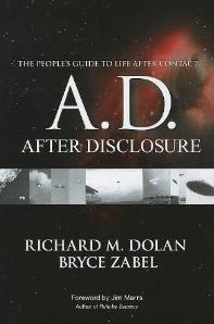 after disclosure ufo könyv történelem társadalom