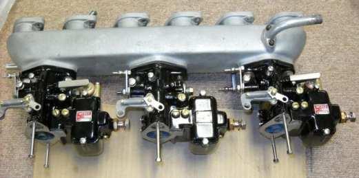 rebuilt vintage Maserati A615003c carburetors