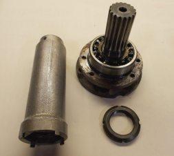 SKF wrench and nut for older Lamborghini, Ferrari, Maserati.