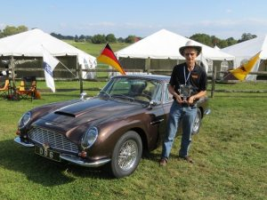 Aston Martin DB6 1st at the Radnor Hunt 2013