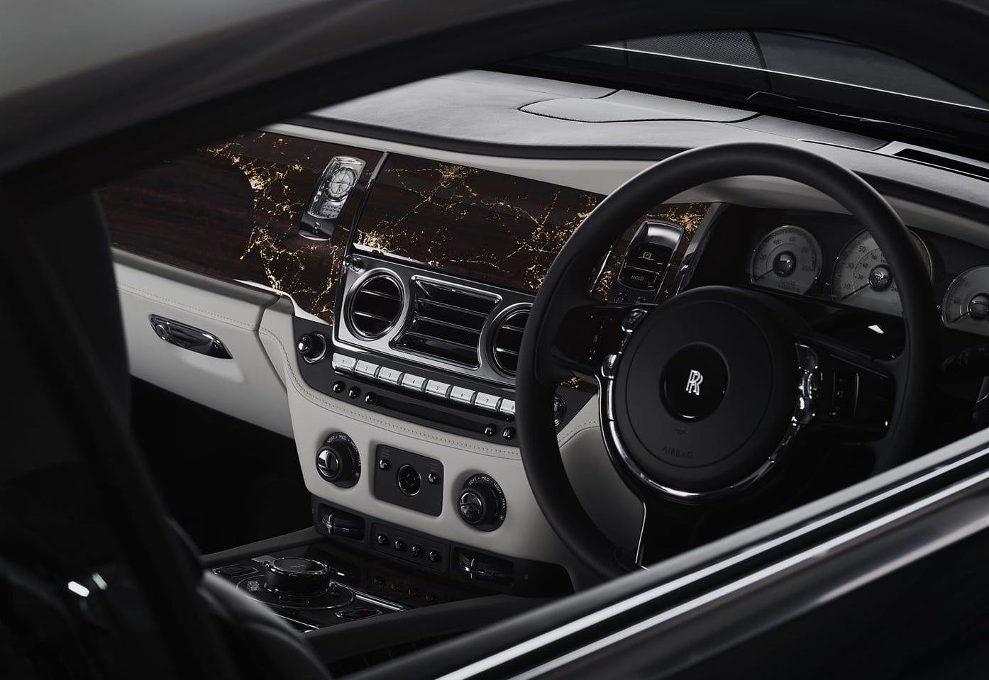 Rolls-Royce Wraith Eagle VIII Collection Interior