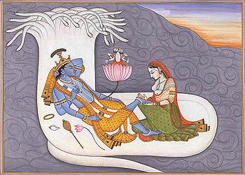 Shesha Shayi Vishnu