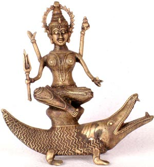 Devi Ganga the River Goddess