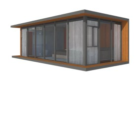 Deluxe Modern China Prefabricated Homes Anti Seismic Prefab Tiny House