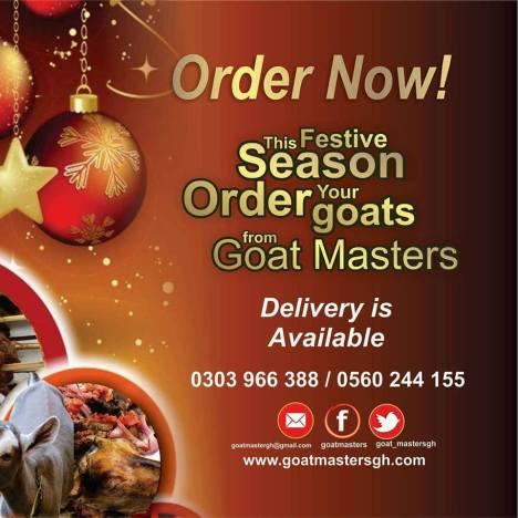 Goat Masters Christmas Social Media Order Processing