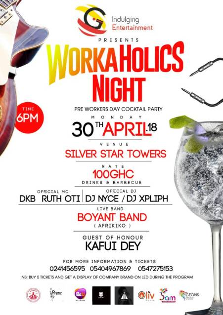 The Workaholics Night Event's Profile