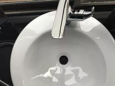 basin and mixer