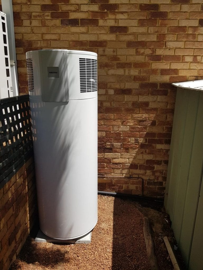 heat pump hot water system
