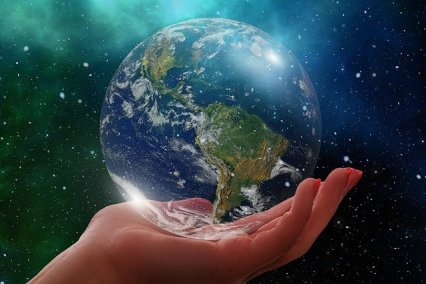 We all have the world in our hands. The question is, what are we going to do about it?