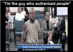 Heartbreaking Testimony: Pulmonary Nurse of 31 Years Testifies How He Followed the COVID Protocols, Unknowingly that They Could Result in the Deaths of Patients