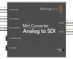 Blackmagic Analog to SDI Mini Converter