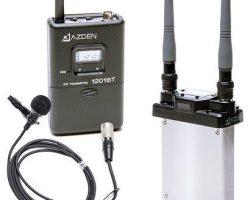 Azden 1201SiS 1201 Series UHF Wireless Microphone System