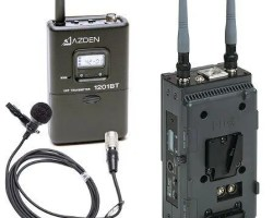 Azden 1201VMS 1201 Series UHF Wireless Microphone System
