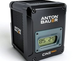 Anton Bauer Cine 150 VM V-Mount Battery delivers 12 amps of continuous power