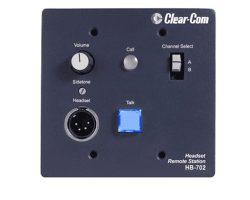 Clear-Com HB-702 2-Channel Flush-Mount