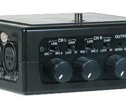 Azden FMX-DSLR 2 Channel Portable Mic/Line Mixer For DSLR Cameras