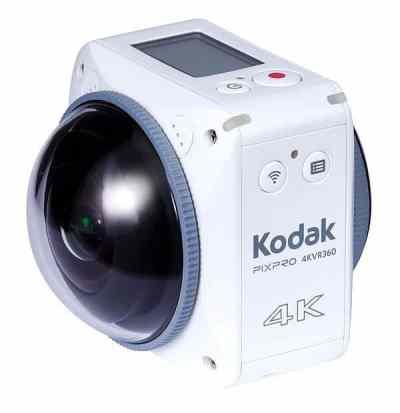 Kodak PixPro 4KVR360 Action Camera Standard Pack