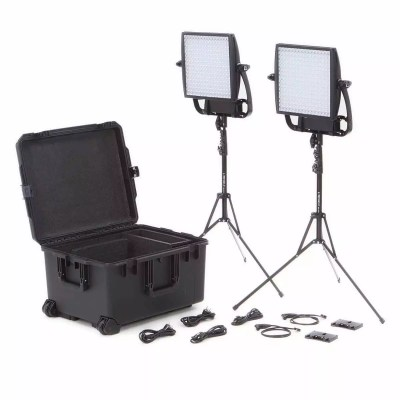 Litepanels Astra 1X1 Traveler Duo Gold Mount Kit Versatile LED Lighting kits