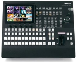 Panasonic AV-HS410 Multi-format HD/SD video switcher with 9+ inputs