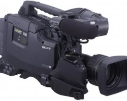 """Sony DSR-450WSPL (PAL) DVCAM 2/3"""" 3CCD 16:9/4:3 Camcorder without lens"""