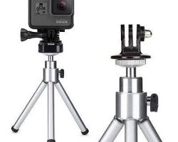 GoPro Tripod Mount with mini tripod