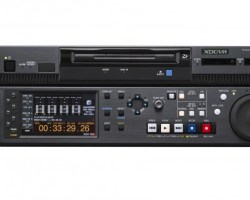 Sony XDS-PD1000 XDCAM Deck with two SxS memory Professional Disc drive and 1TB HDD