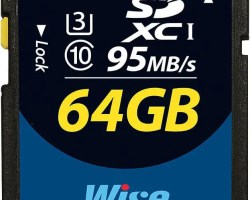 Wise SD1-64U3 64GB SDXC™ UHS-I Memory Card