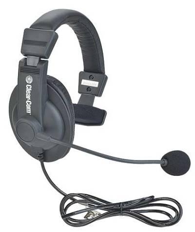 Clear-com CC-15 Single-ear noise-cancelling headset