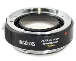Metabones ALPA - E-mount Speed Booster ULTRA 0.71x