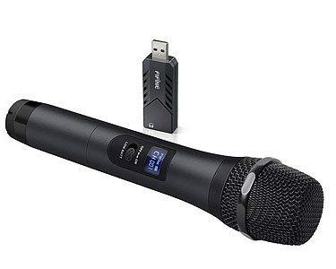 Fifine K026 USB Handheld UHF Wireless Microphone System