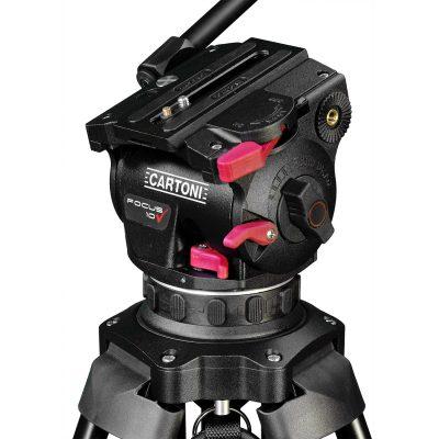 Cartoni Focus 10 Red Lock Mid Level Spreader
