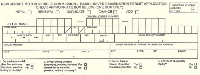 New Jersey Dmv Practice Tests