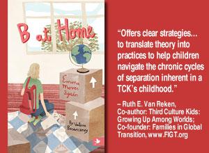 B at Home, expat books, TCKs, young TCKs