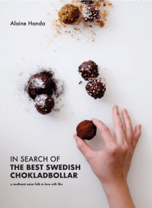 Book Cover: In Search of the Best Swedish Chokladbollar