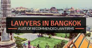 A list of recommended law firms in Bangkok