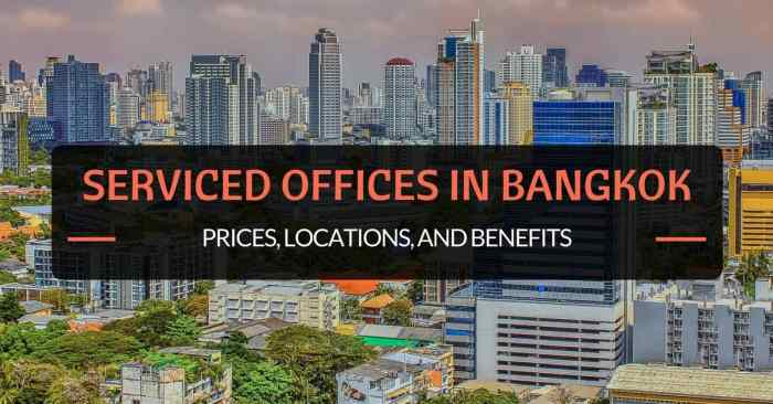 Serviced Offices in bangkok