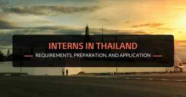 Interns in Thailand