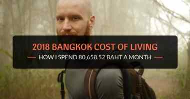 2018 bangkok cost of living