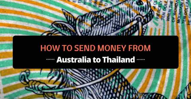 send money from australia to thailand