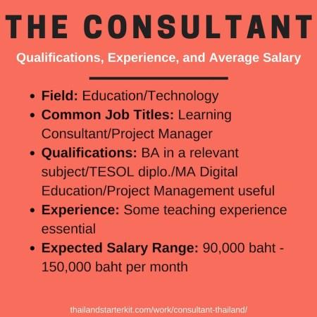 consultant thailand