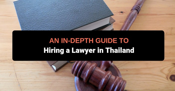 hire lawyer thailand