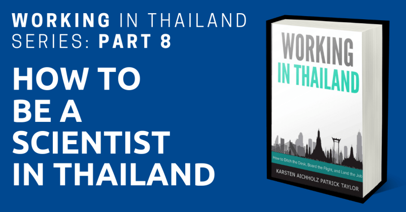 working in thailand scientist