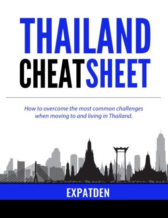 thailand cheat sheet cover