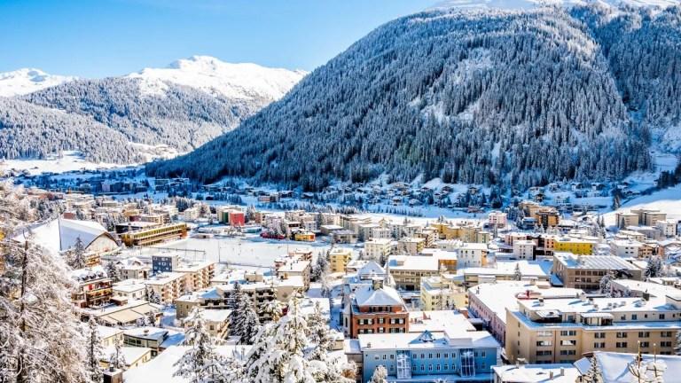 د داووس ښار، سویس Davos
