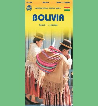 Bolivia Map Cover